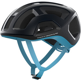 POC Ventral Lite Helm uranium black/basalt blue matt